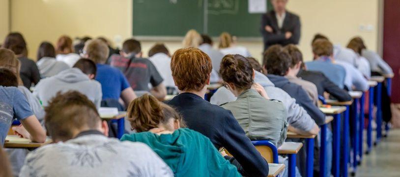 Des étudiants passent le baccalauréat (image d'illustration).