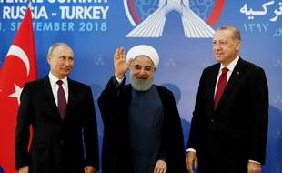 Le sommet entre les trois dirigeants s'est déroulé à Téhéran, la capitale iranienne.
