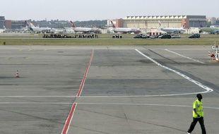 Sur les pistes de l'aéroport Toulouse-Blagnac.