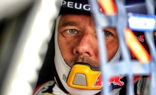 Sébastien Loeb a dû batailler ferme pour « monter sur la boîte » à Lohéac.