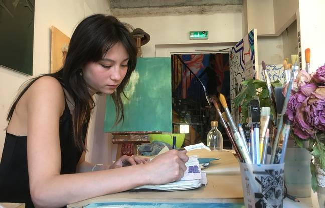 Aline Rousseaux, artiste au 59 Rivoli depuis février 2021