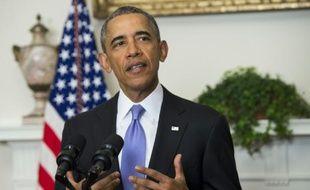 Le président Barack Obama, le 17 janvier 2016 à la Maison Blanche, à Washington