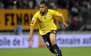 L'attaquant américain du FC Sochaux, Charlie Davis, a été pris dans un accident de voiture, le 13 octobre 2009