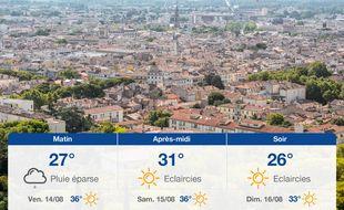 Météo Nîmes: Prévisions du jeudi 13 août 2020