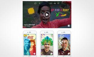 Messenger Day permet de partager sa journée en mode zapping avec ses amis.