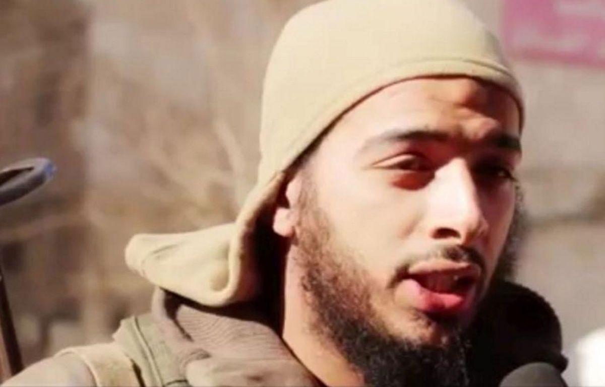 Capture d'écran d'une vidéo de propagande de Daesh montrant Salim Benghalem. – AL HAYAT