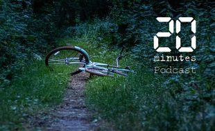 Illustration de vélo dans la nature