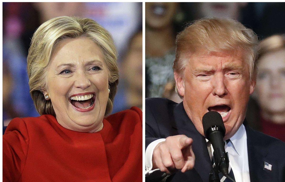 Hillary Clinton et Donald Trump. – AP/SIPA