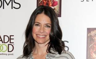 L'actrice Evangeline Lilly, avec ses cheveux longs
