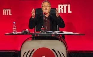 Laurent Ruquier dans les locaux de RTL le 4 septembre 2015.
