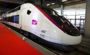 Le nouveau TGV pour ligne LGV Bordeaux-Paris, Credit:ROMUALD MEIGNEUX/SIPA/1609141402