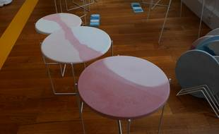 Tables gigognes de Julia Bourel