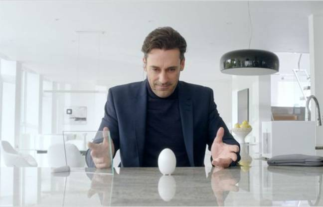 Jon Hamm dans l'épisode White Christmas de «Black Mirror»