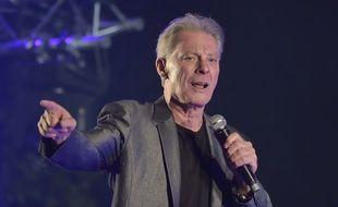 Herbert Léonard en concert à Chatou, le 4 septembre 2015.