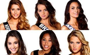 Plusieurs candidates au titre de Miss France 2015