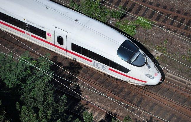 Allemagne: Un homme ivre effrayé par la vitesse d'un train s'en prend à son conducteur