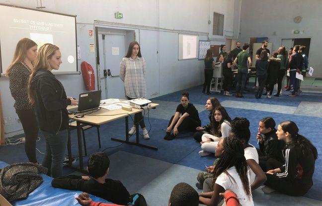 En trois ateliers, ces élèves découvrent des connaissances et conseils sur activité physique, mal de dos et asthme.