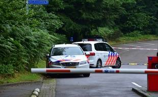 Des policiers néerlandais - Illustration