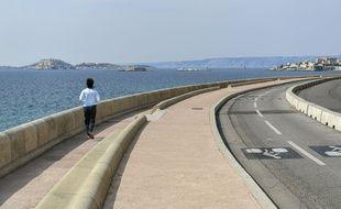 La Corniche à Marseille.