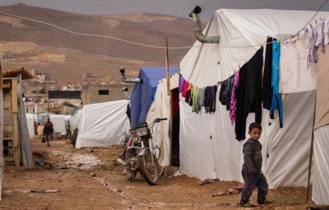 Un jeune réfugié syrien dans un camp à Arsal au Liban le 23 octobre 2014