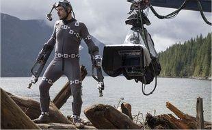 Andy Serkis dans La planète des singes:l'affrontement
