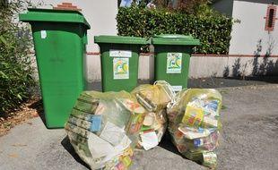 C'est le tri des ordures recyclables qui est impacté (illustration).