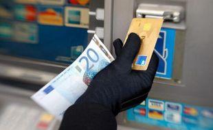 Illustration de fraudes à la carte bancaire.
