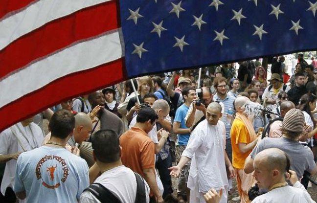Des manifestations ont salué l'ouverture du sommet de l'Otan à Chicago, le 20 mai 2012