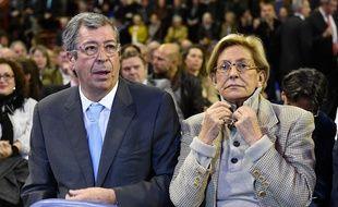 Le maire de Levallois-Perret Patrick Balkany et Isabelle Balkany