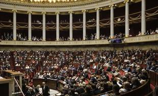 Illustration : l'Assemblée nationale.