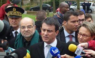 Alors ministre de l'Intérieur, Manuel Valls avait visité le quartier du Blosne à Rennes le 9 janvier 2014.