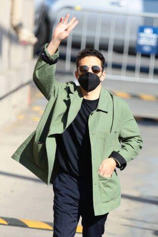 Rami Malek, le 6 octobre, à Los Angeles