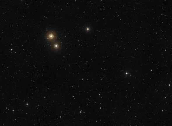 Une étoile super brillante visible dans notre ciel depuis…