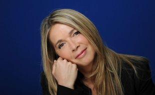 Hélène Rollès, lors de l'enregistrement des Grands du Rire le 8 juin 2017.