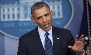 """Le président américain Barack Obama a averti que les coupes budgétaires """"stupides"""" entrant en vigueur vendredi allaient coûter des emplois aux Etats-Unis et avoir un impact sur l'économie, accusant ses adversaires républicains d'être responsables de cette situation."""