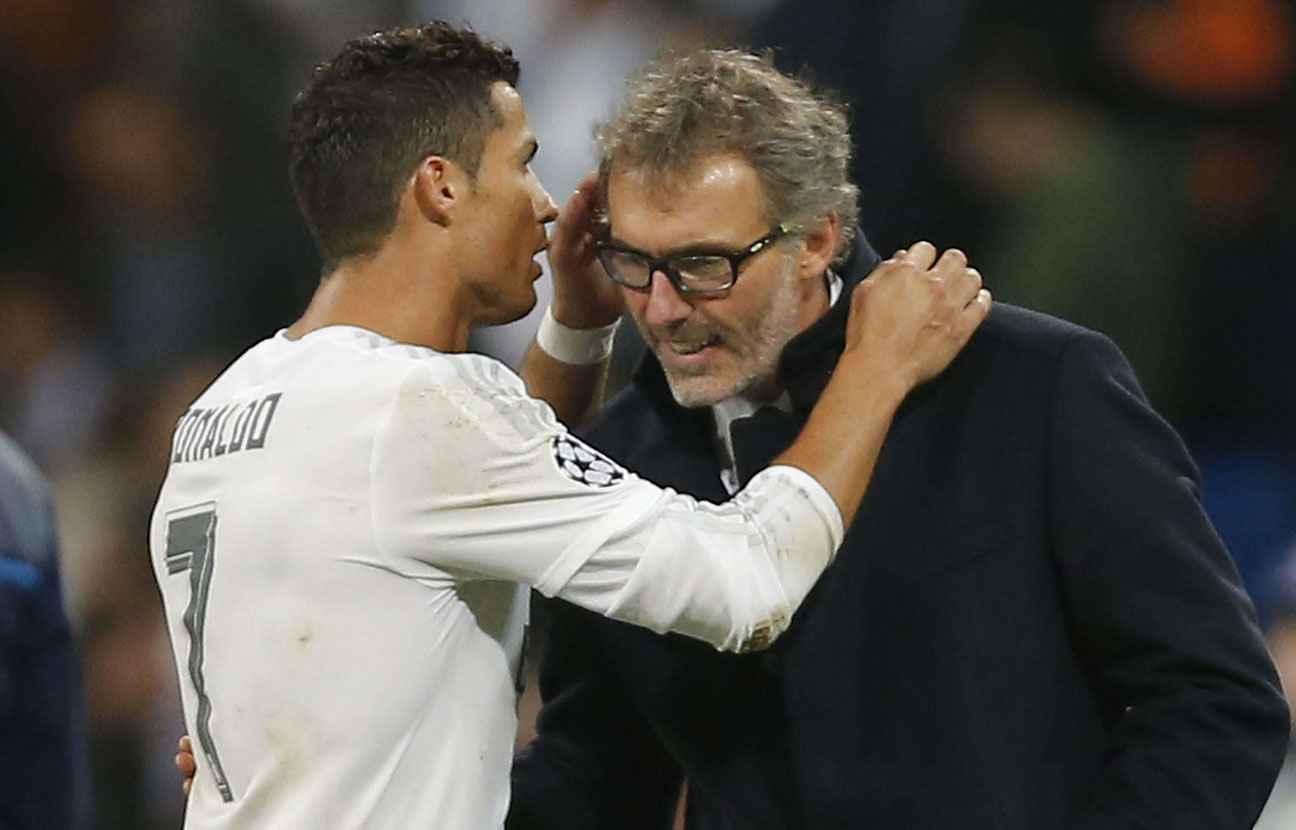 L'étrange conversation entre Cristiano Ronaldo et Laurent Blanc