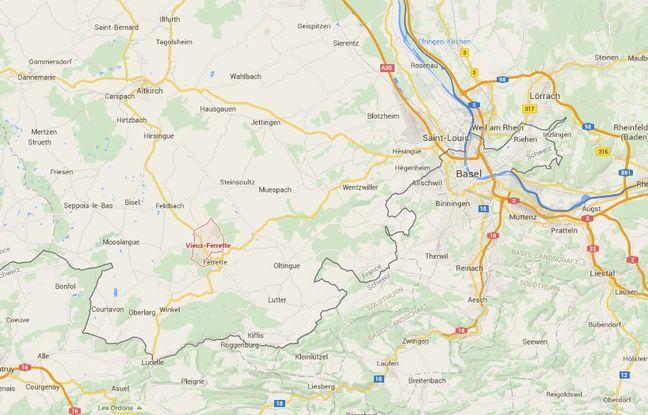 Un chef d'entreprise s'est immolé devant le siège de sa société de travaux publics à Vieux-Ferrette (Haut-Rhin, Alsace), ce vendredi.