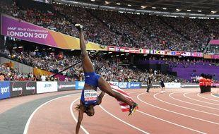Dawn Harper avait gagné la médaille d'argent aux Mondiaux 2017.