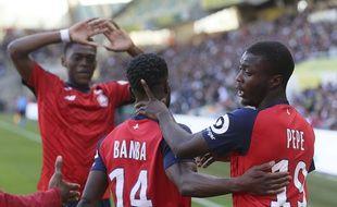 Nicolas Pepe et les Lillois jouent à Reims pour la 31e journée de Ligue 1.