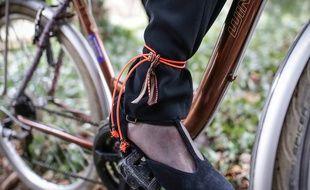 Strasbourg: Après la «jart'elle» pour les jupes et robes, voici le «pantastic» pour maintenir le pantalon à vélo