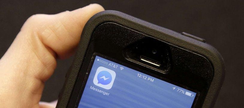 Facebook Messenger. (illustration)