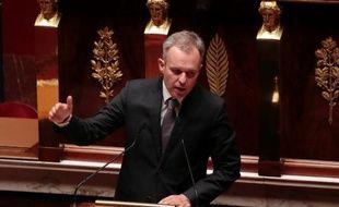 Le coprésident des députés écologistes, François de Rugy, le 10 septembre 2013 à l'Assemblée Nationale