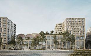 Le programme d'Altarea-Cogedim comprendra des logements et un pôle aquatique exploité par l'UCPA, sur le quai de paludate à Bordeaux.