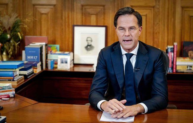 648x415 le premier ministre neerlandais mark rutte le 14 decembre 2020 au moment d annoncer un confinement