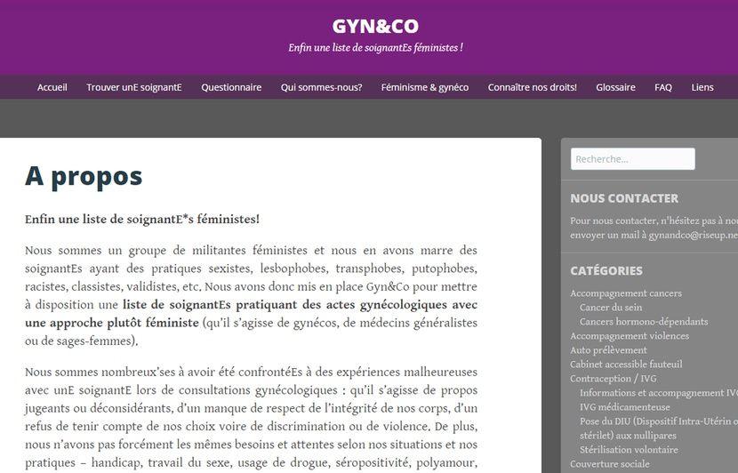 Un blog pour trouver un gynécologue bienveillant