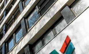 Le siège de la caisse régionale à Lille.