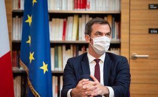 Olivier Véran, le 21 juillet 2020 à Paris.