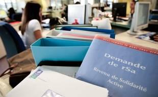 Le conseil départemental mise sur le contrôle et le retour à l'emploi des bénéficiaires du RSA (Illustration)