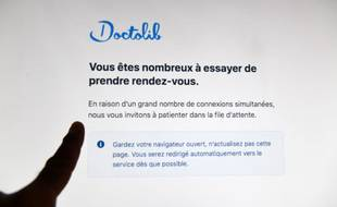 En quelques minutes, le site leader du marché Doctolib a enregistré 7,5 millions de connexions le soir de l'allocution d'Emmanuel Macron le 12 juillet.