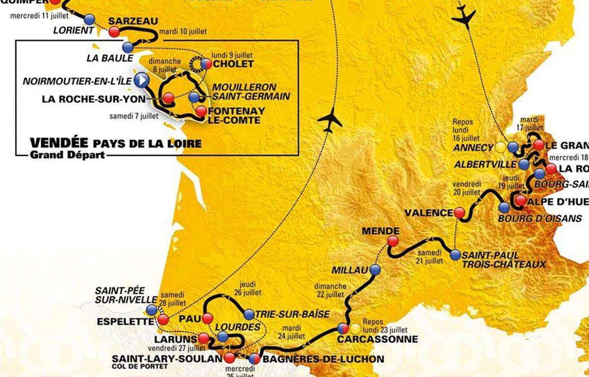 Tour de france 2018 on partirait pas sur le trac le plus - Deco tour de france ...